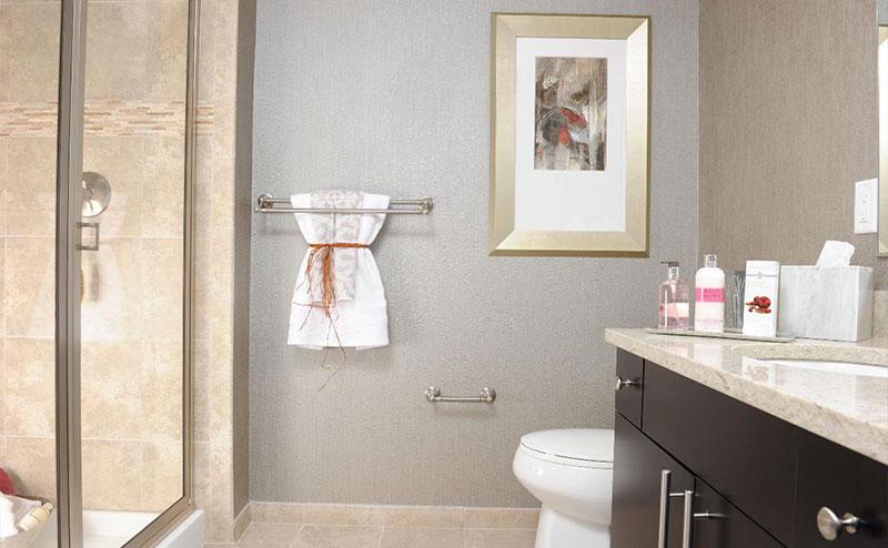 Darlington Bathroom Countertop Side Shot