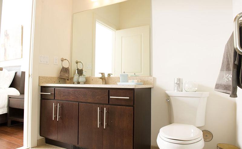 Darlington Bathroom Countertop and Vanity Front Shot