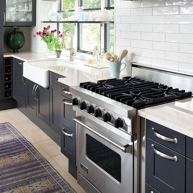 Cambria Ella Countertops In Residential Kitchen