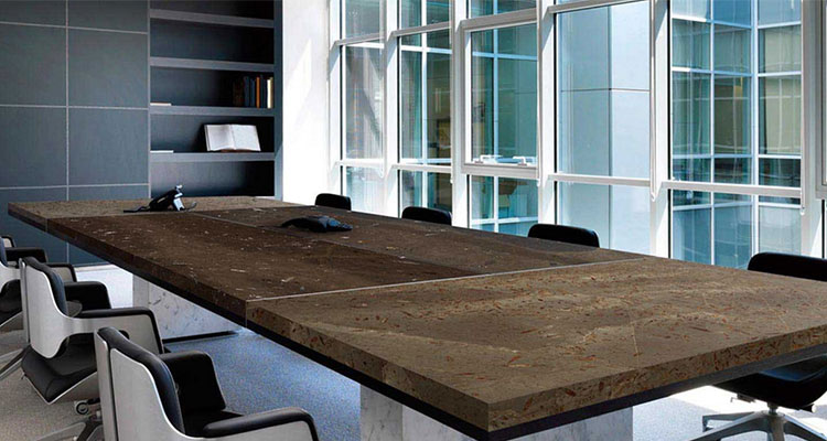 5 office design trends using natural stone marva marble for Azerocare
