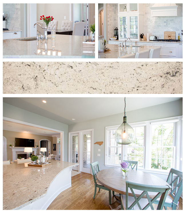 Colonial White Granite Details