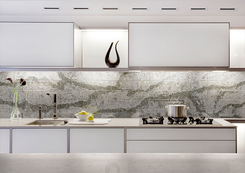 What S An Ideal Kitchen Backsplash Height