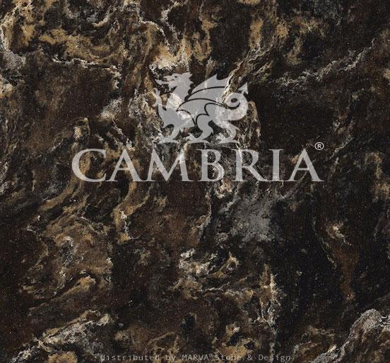 Cambria Quartz in Laneshaw compliments Oak cabinetry very ... |Cambria Quartz Hampshire Mill Carpet
