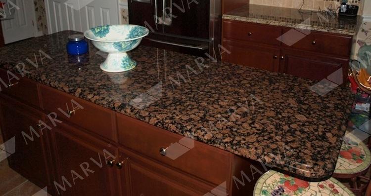 Baltic Brown - Granite Designs - MARVA Marble and Granite