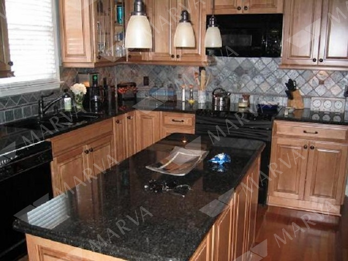 Black Pearl Granite Designs Marva Marble And Granite