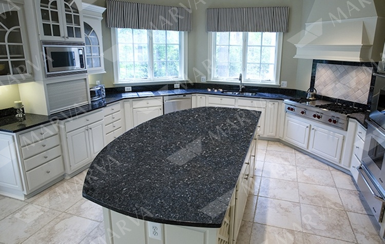 Blue Pearl Granite Designs Marva Marble And Granite