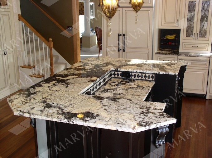 kitchen backsplashes ideas and pictures - Copenhagen Granite Designs MARVA Marble and Granite