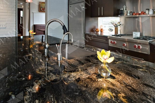 Cosmic Black Granite Designs Marva Marble And Granite