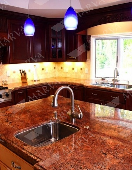 diamond red - granite designs