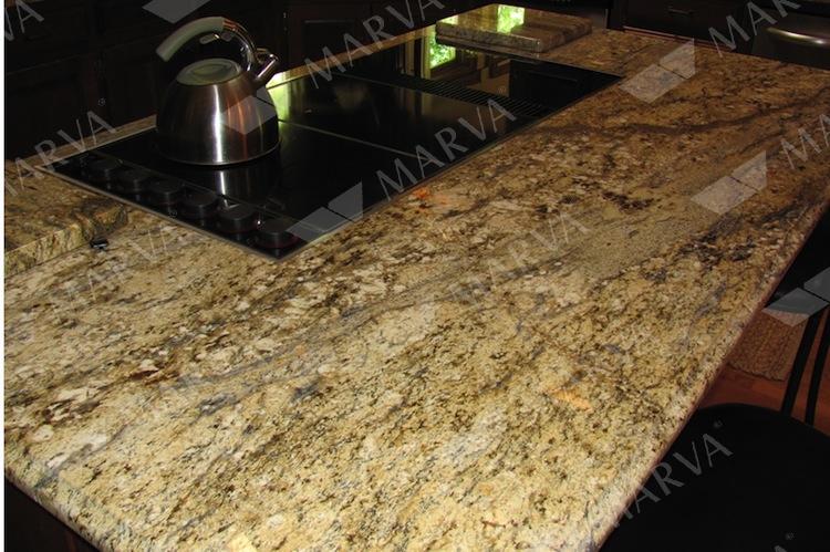 Giallo Matisse Yellow River Granite Designs Marva