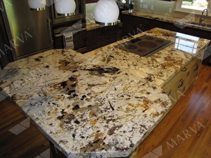 Gold Amp Silver Granite Designs Marva Marble And Granite