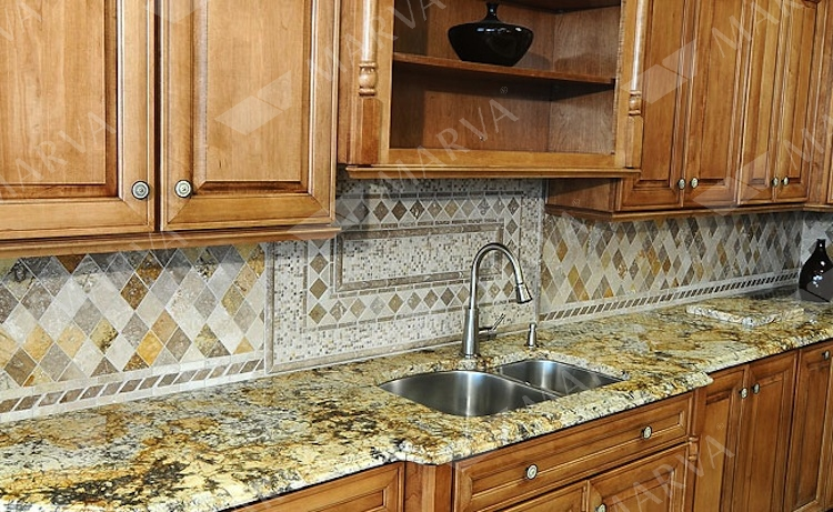 Gold Silver Granite Designs Marva