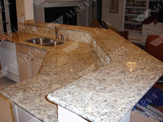 Santa cecilia a granite designs marva marble and granite for Granito santa cecilia