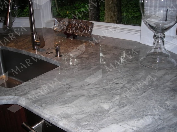 Super White Arabescato Granite Designs Marva Marble