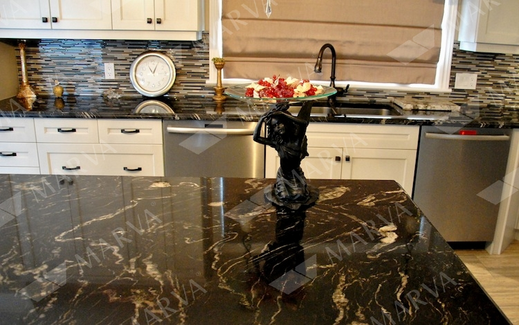 Titanium MC - Granite Designs - MARVA Marble and Granite